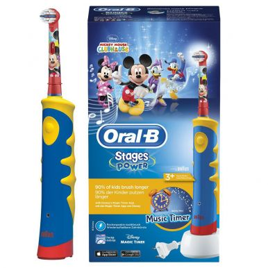 Зубная щетка Braun Oral-B Mickey Mouse D10.513