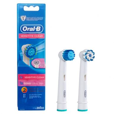 Насадка Braun Oral-B Sensitive (EB17s) + Sensi UltraThin (EB60)