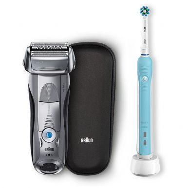 Электробритва Braun Series 7 7893s + Braun Oral-B PRO 500 D16.513.U Cross Action